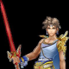 Bartz's render from <i>Dissidia Final Fantasy</i>.