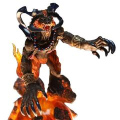<i>Final Fantasy X</i> Ifrit from Final Fantasy Creatures Kai Vol.2.