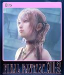 FFXIII-2 Steam Card Etro