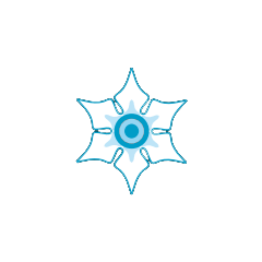 Ice deposit icon.