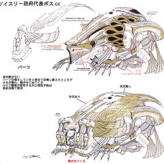 Concept art of Barthandelus's second form.