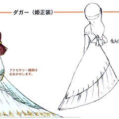Princess Garnet Formal Dress.