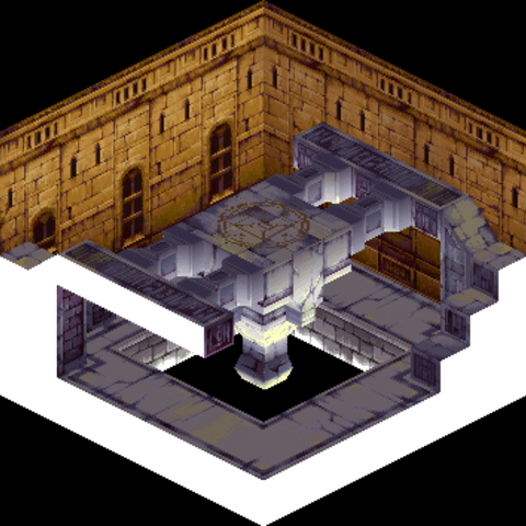 The portal to Mullonde, used by Loffrey to trap Ramza and company inside.