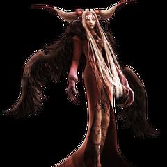 CG render of Ultimecia from <i>Dissidia Final Fantasy</i>.