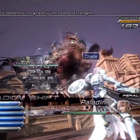 Lightning as a Sorcerer using Chaos.