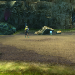 The entrance in <i>Final Fantasy X</i>.