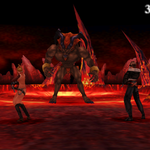 Ifrit in-game render.
