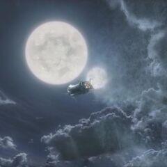 <i>Лунный Кит</i> в FMV-опениге <i>Final Fantasy IV</i>.