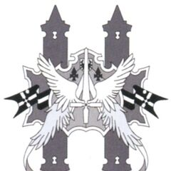 Concept artwork of Alexandria's emblem.