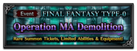 FFBE Event- Operation MA Demolition