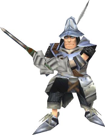 Steiner's battle sprite