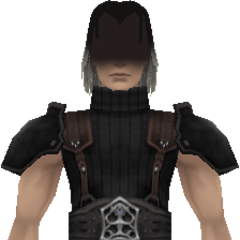 Model in <i>Crisis Core -Final Fantasy VII-</i>.