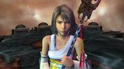 Yuna during the final battle