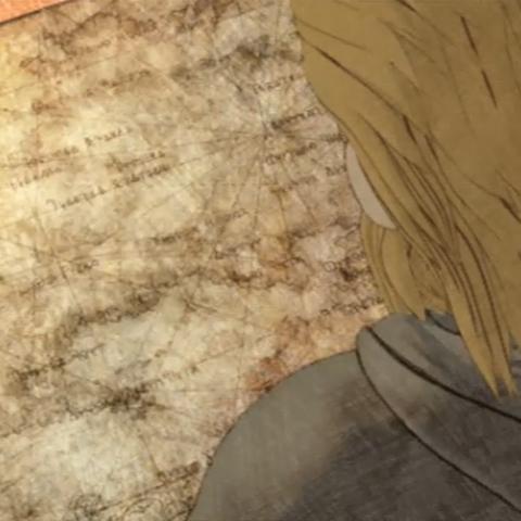 Arazlam Durai gazes over a map of Ivalice.