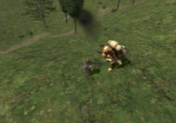 FFXI Foot Kick