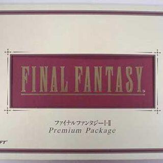 The original Japanese release, called <i>Final Fantasy I</i> &amp; <i>II Premium Package</i>.