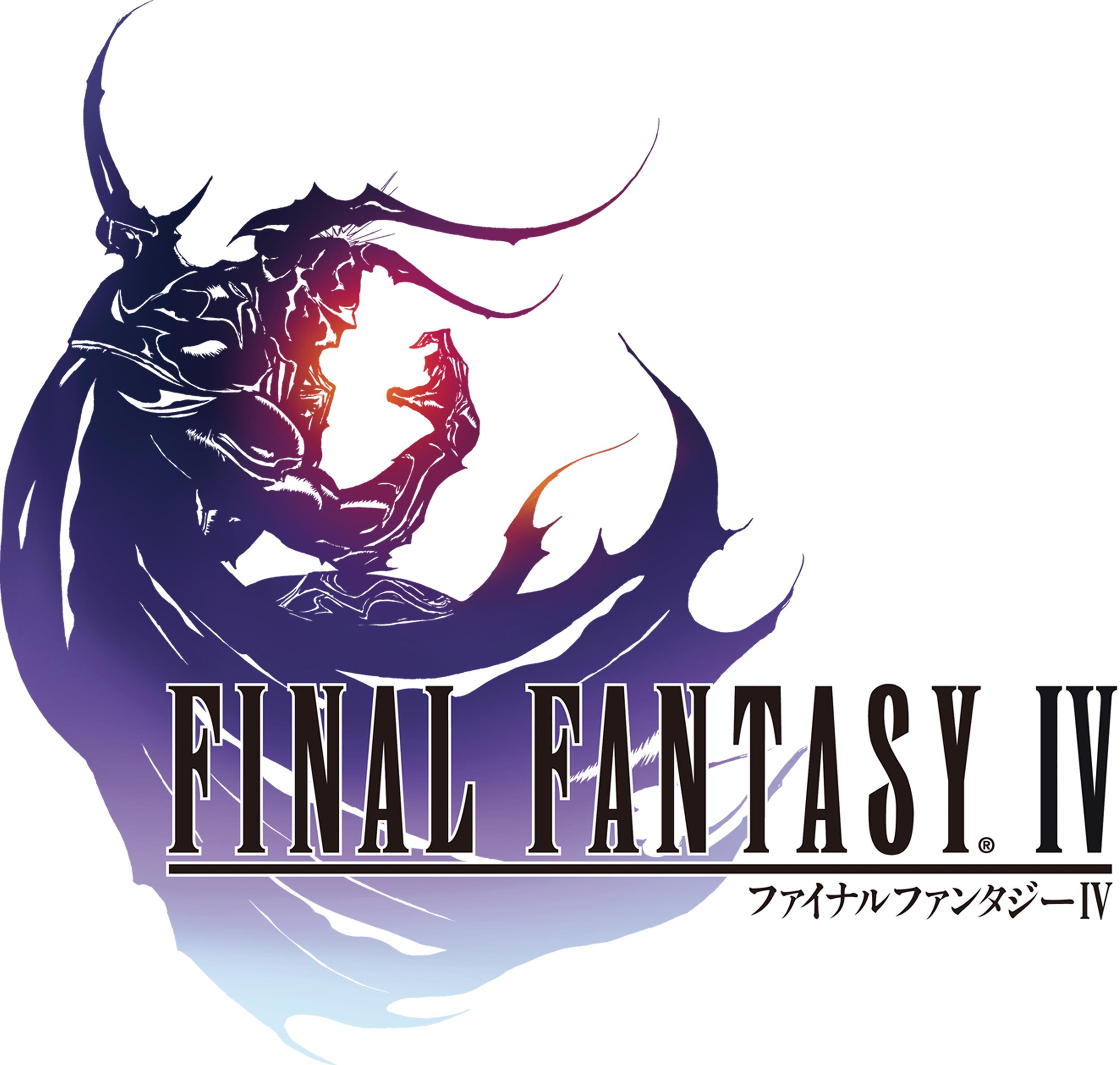 Logo of Final Fantasy IV DS.
