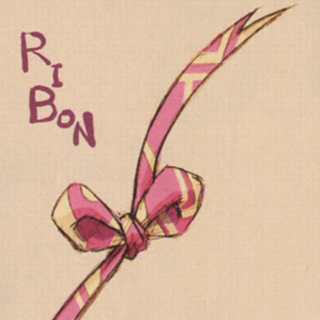 Artwork of Mog's ribbon from <i>The Art of Final Fantasy IX</i>.