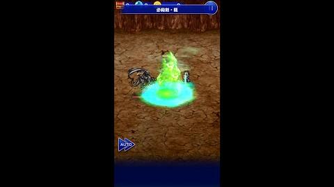 【FFRK】カイエン必殺技『必殺剣・龍』