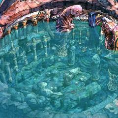 Baaj Temple artwork.