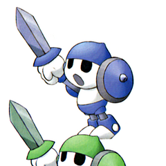 Onion Knight enemy artwork in <i><a href=