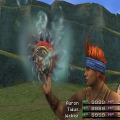 Water version in <i>Final Fantasy X</i>.