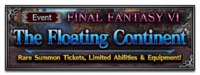 FFBE Event- The Floatin Continent