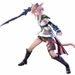 Lightning costume with Blazefire Saber.