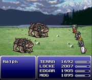 Final Fantasy VI battle