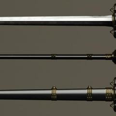 Drautos's sword.