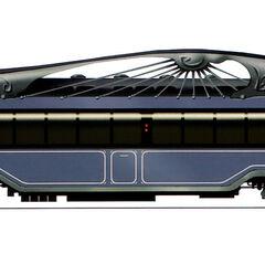 Intercontinental Train carriage.