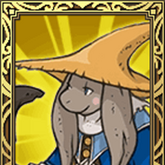 Nu Mou Black Mage portrait in <i>Final Fantasy Tactics S</i>.