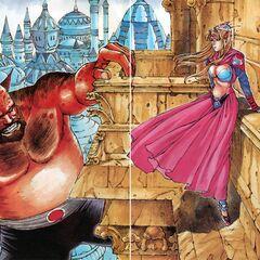 Manga Djinn in color.