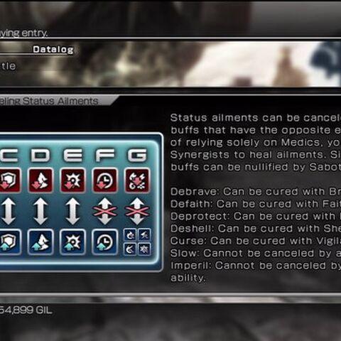 A Datalog entry for Primers: Battle in <i>Final Fantasy XIII-2</i>.