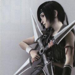 Yuffie's <i>Advent Children</i> outfit for the <i>Final Fantasy VII Anniversary</i>.