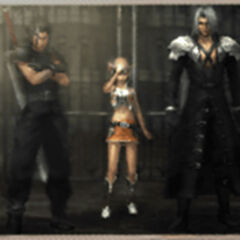Photograph snapped by a villager in <i>Crisis Core -Final Fantasy VII-</i>.