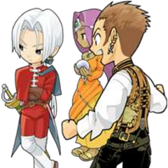 Balthier, Angelo from <i>Dragon Quest VIII</i> and <a href=