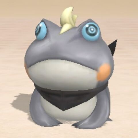 Snow as a toad.