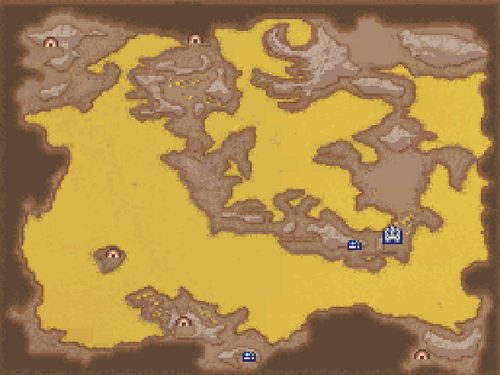 FFIVDS Underworld Map