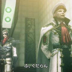 Cid with Brigadier General Qator.