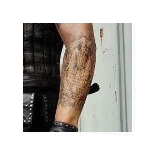 Dave's tattoo.