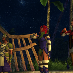 The Chocobo Knights in the ending of <i>Final Fantasy X</i>.