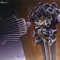Artwork of Garuda if it had appeared in <i>Final Fantasy XIII</i>.