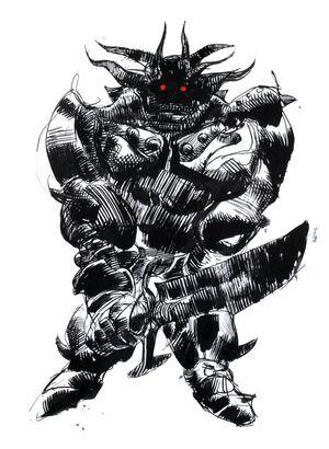Amano Iron Giant FFII