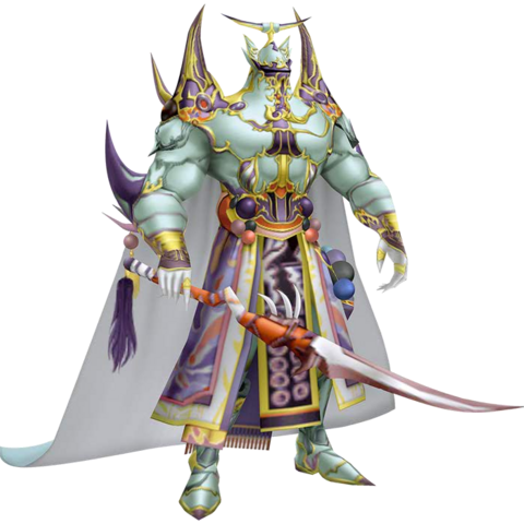 Exdeath's second outfit EX Mode in <i>Dissidia 012 Final Fantasy</i>, based on Exdeath's Soul's sprite.