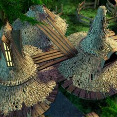 CG art of Final Fantasy IX backgrounds by Behrooz Roozbeh.