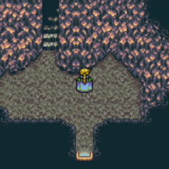 South Figaro Cave inside (GBA).
