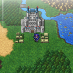 Baron on the world map (PSP).