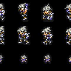 Set of Wol's sprites.