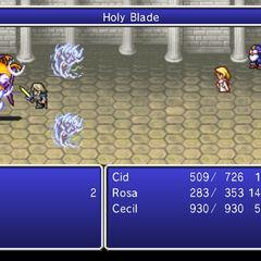 Holy Blade.